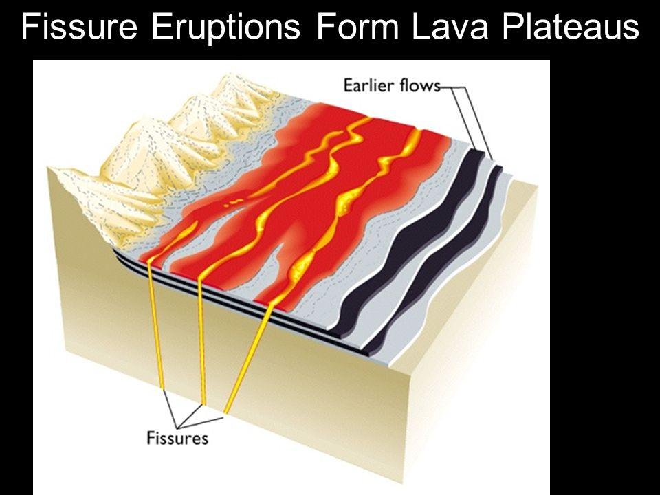 Fissure Eruptions Form Lava Plateaus