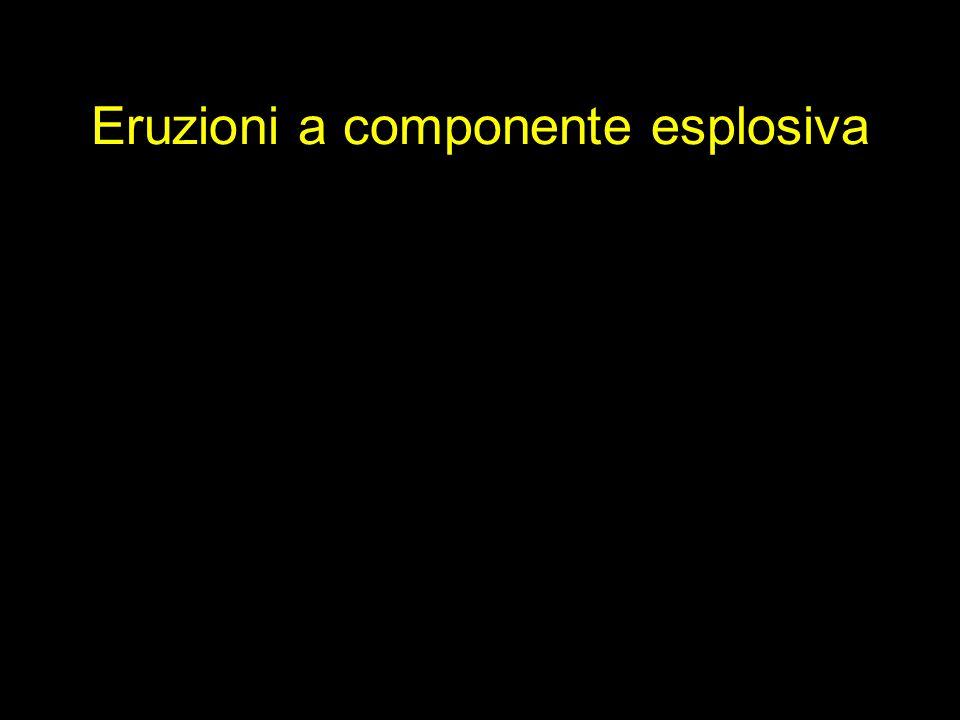 Eruzioni a componente esplosiva