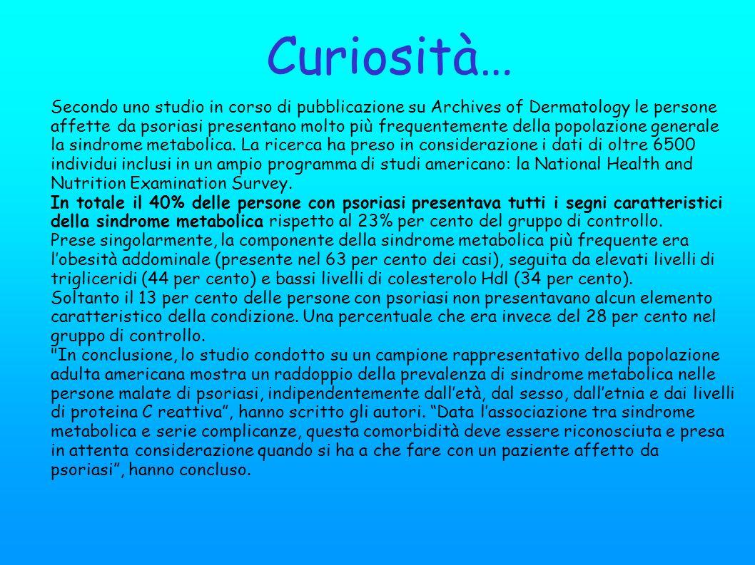 Curiosità…