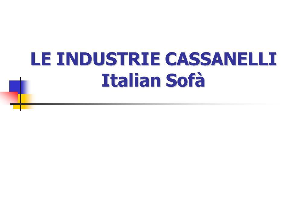 LE INDUSTRIE CASSANELLI Italian Sofà