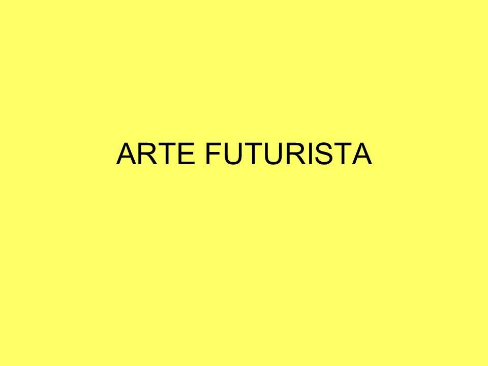 ARTE FUTURISTA
