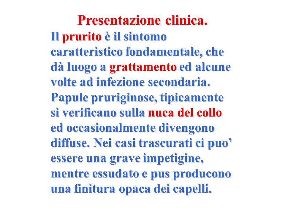 Presentazione clinica.