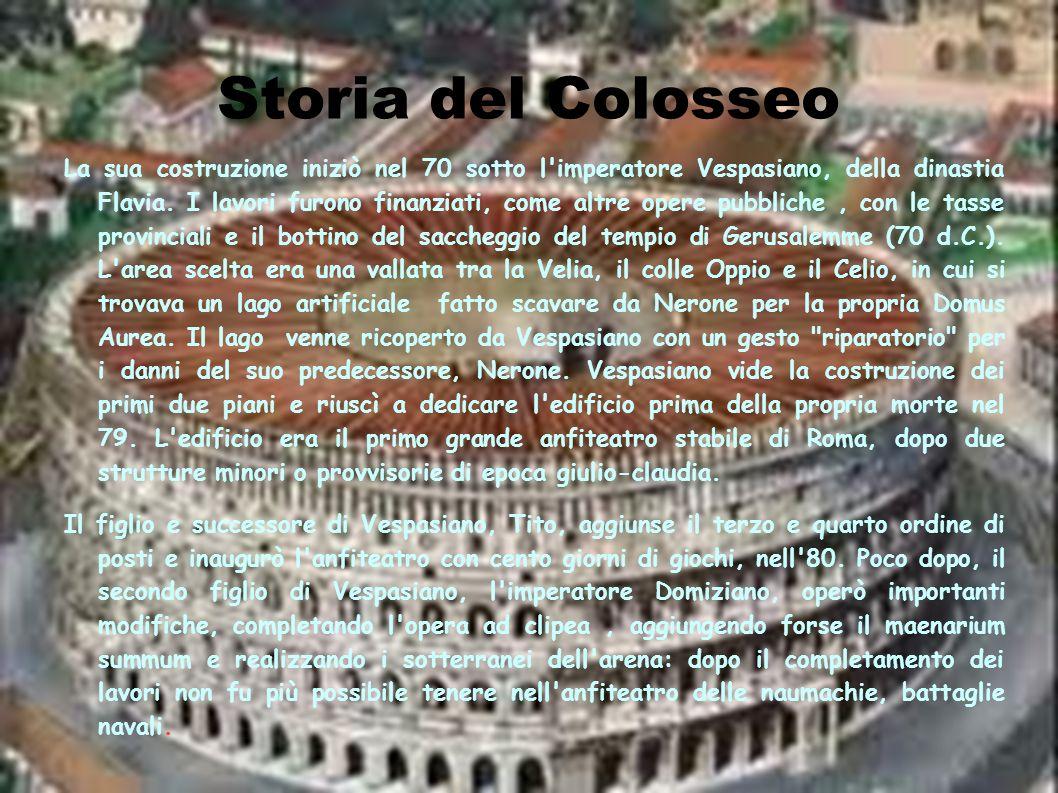 Storia del Colosseo