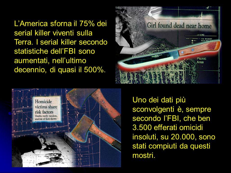 L'America sforna il 75% dei serial killer viventi sulla Terra
