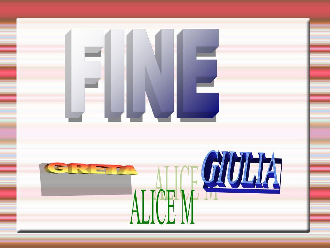 FINE GIULIA GRETA ALICE M