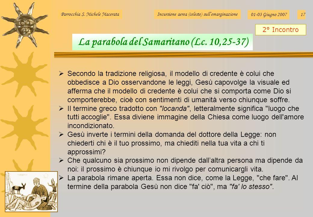 La parabola del Samaritano (Lc. 10,25-37)