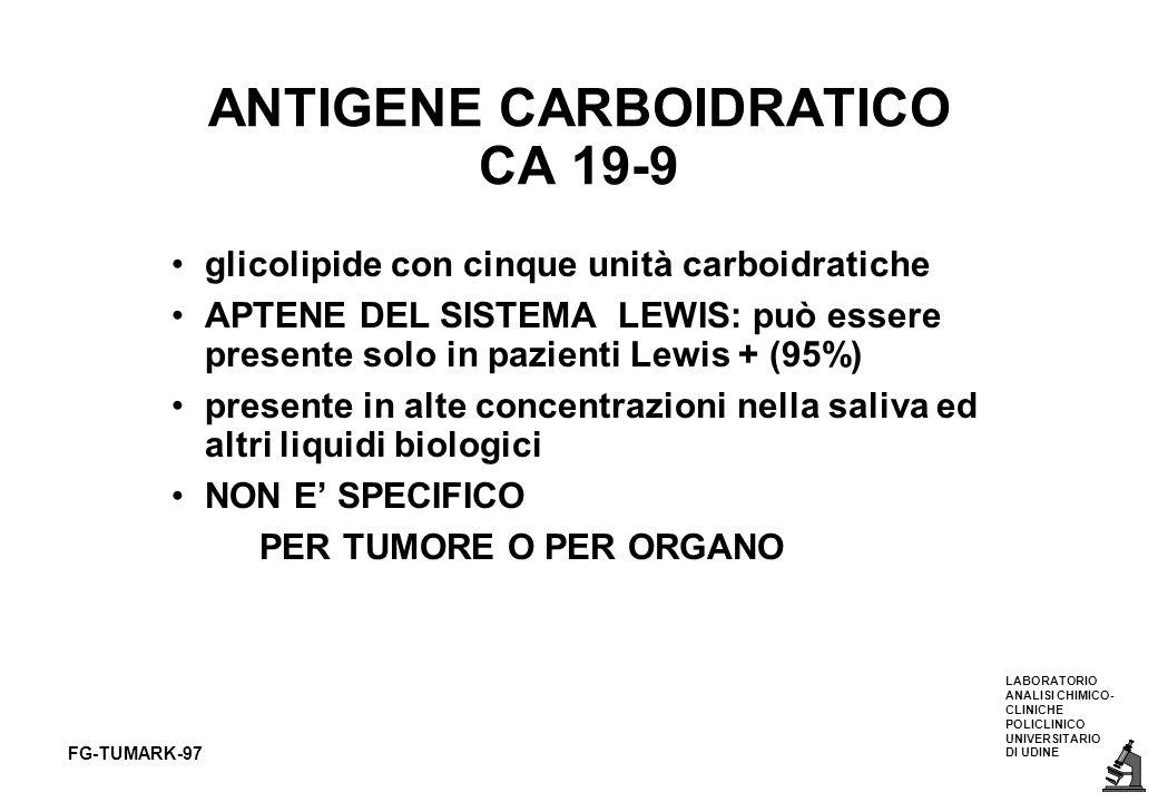 ANTIGENE CARBOIDRATICO CA 19-9