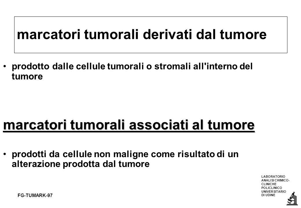 marcatori tumorali derivati dal tumore