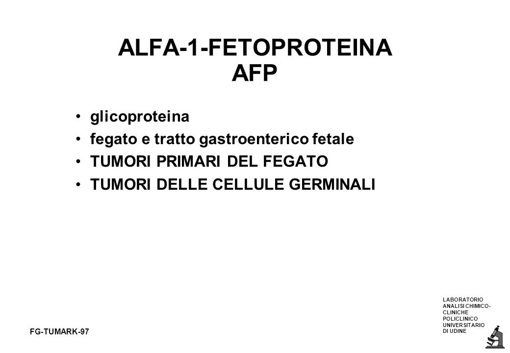 ALFA-1-FETOPROTEINA AFP