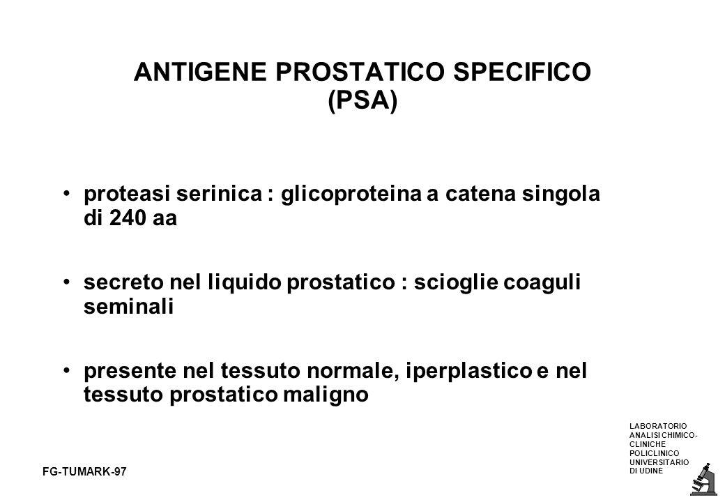 ANTIGENE PROSTATICO SPECIFICO (PSA)
