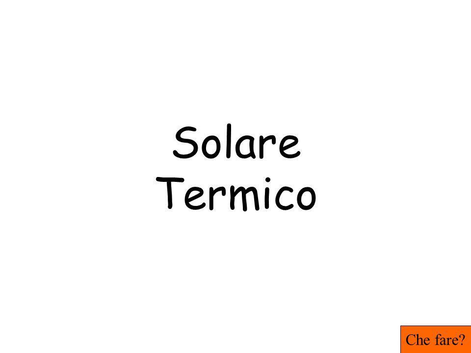 Solare Termico Che fare