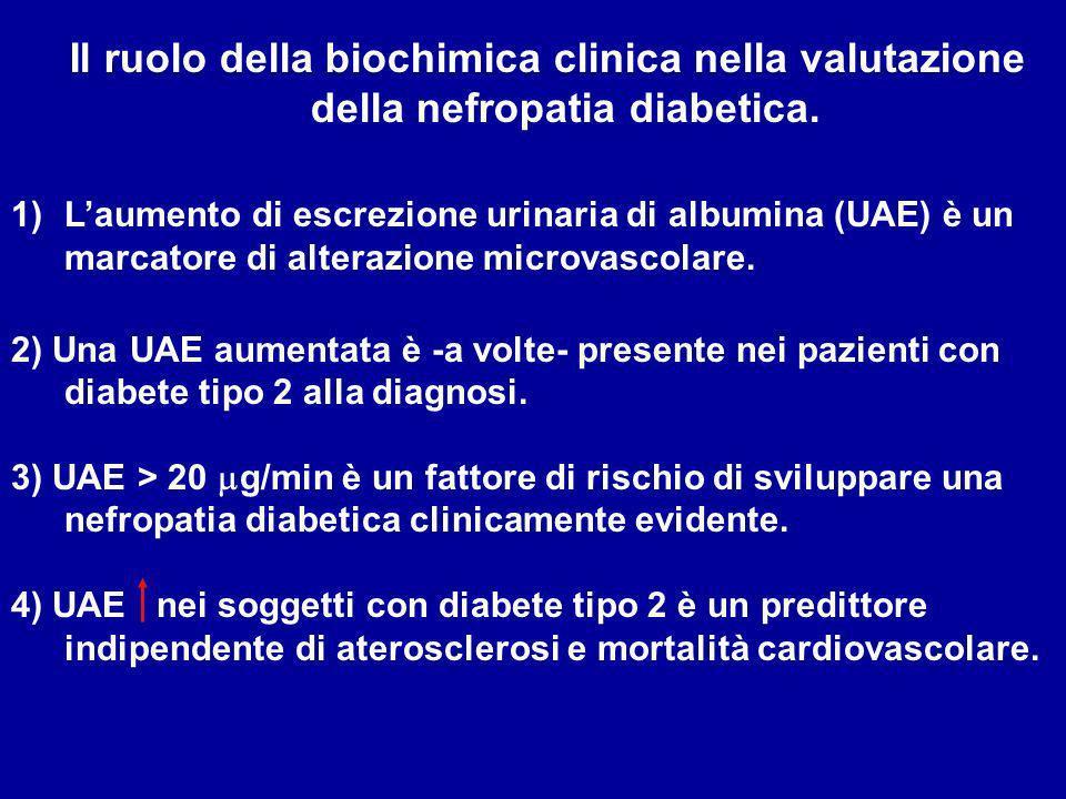 Il ruolo della biochimica clinica nella valutazione