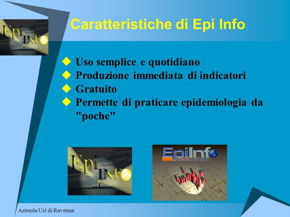 Caratteristiche di Epi Info