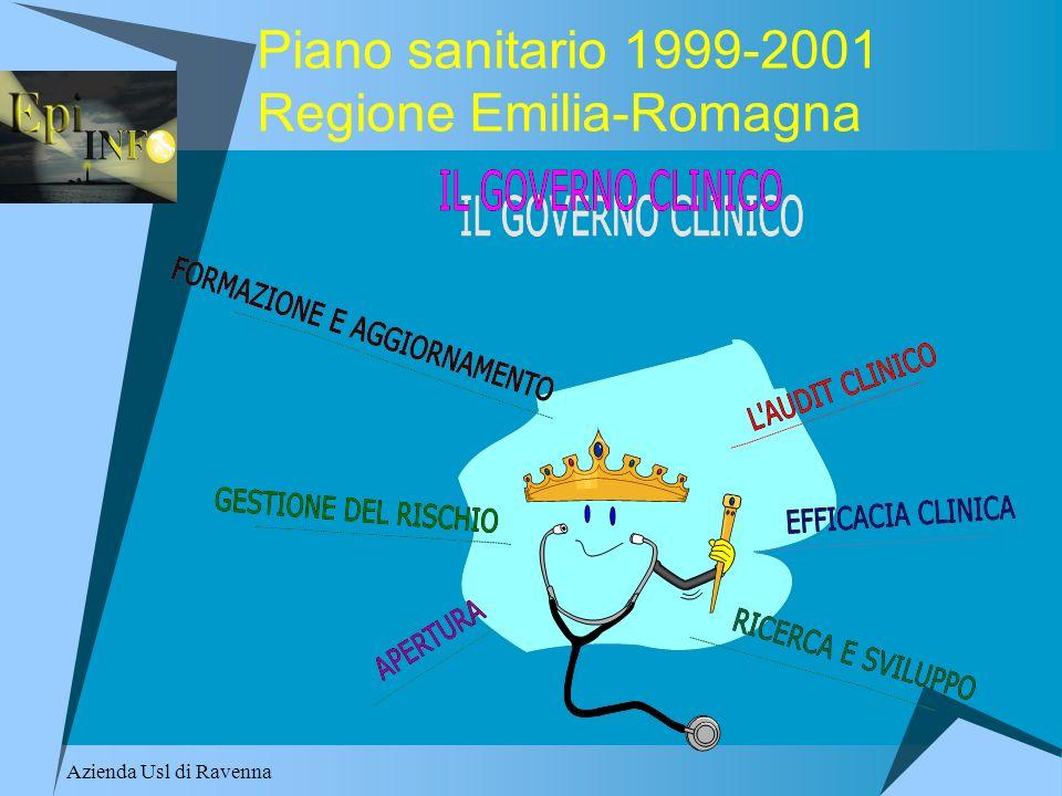 Piano sanitario 1999-2001 Regione Emilia-Romagna