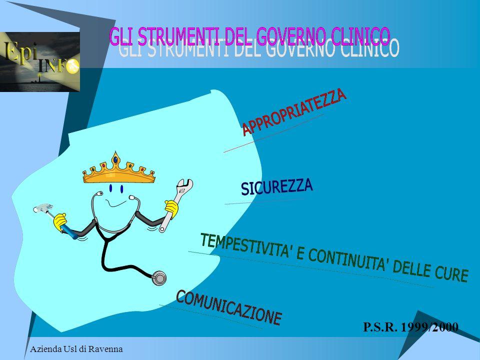 P.S.R. 1999/2000 Azienda Usl di Ravenna