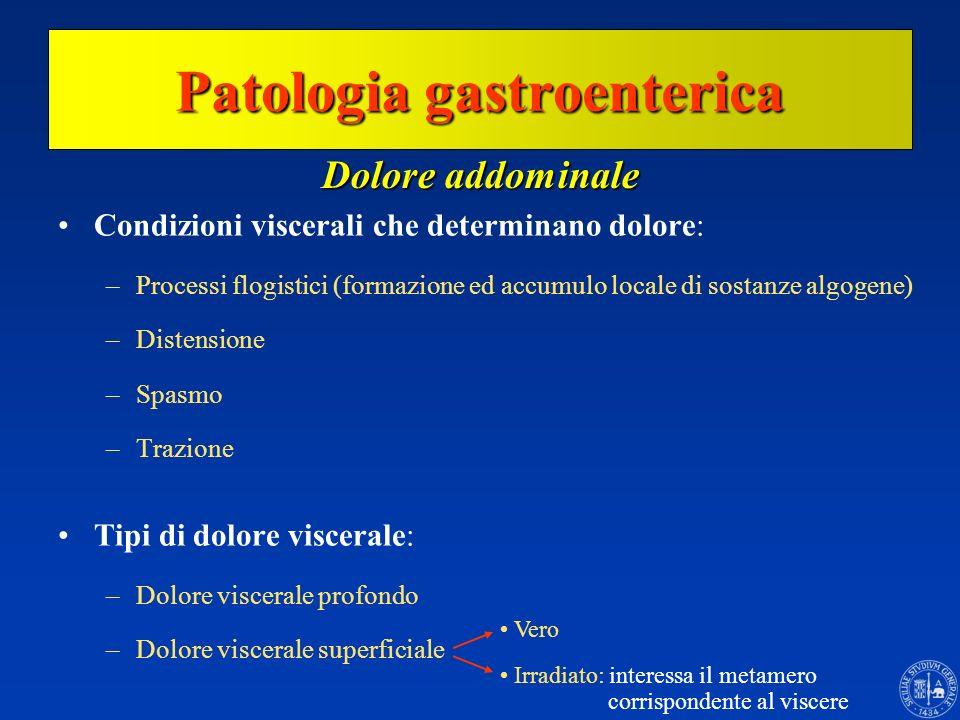 Patologia gastroenterica