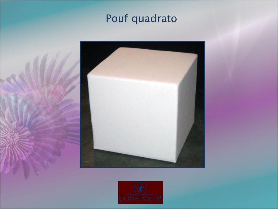 Pouf quadrato