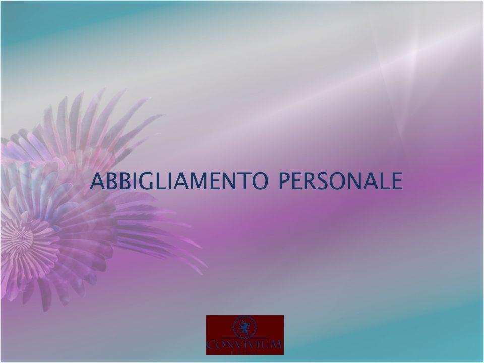 ABBIGLIAMENTO PERSONALE