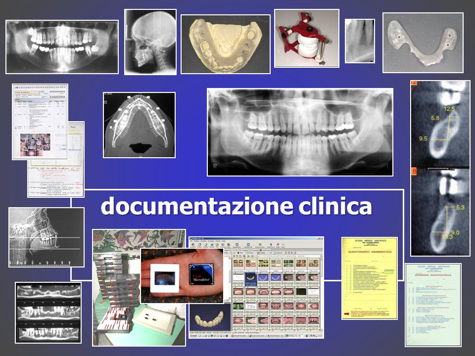 documentazione clinica