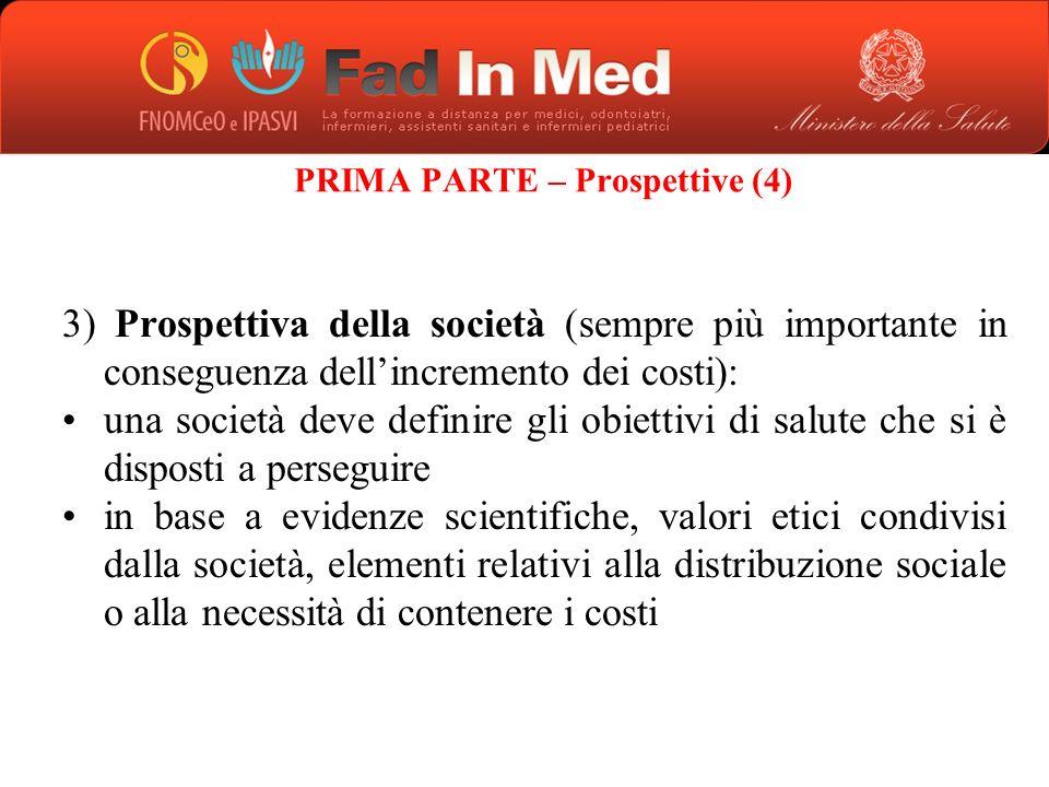 PRIMA PARTE – Prospettive (4)