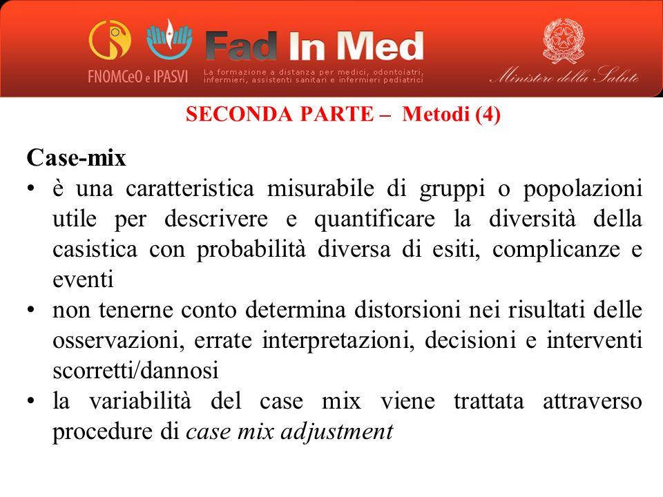 SECONDA PARTE – Metodi (4)