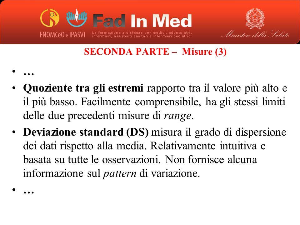SECONDA PARTE – Misure (3)
