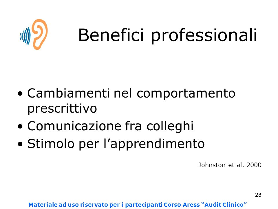 Benefici professionali