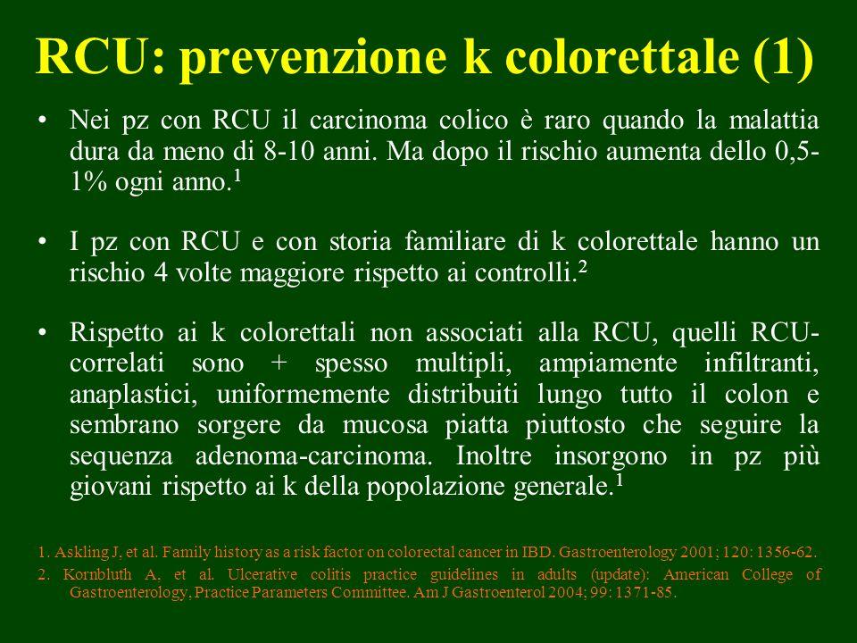 RCU: prevenzione k colorettale (1)