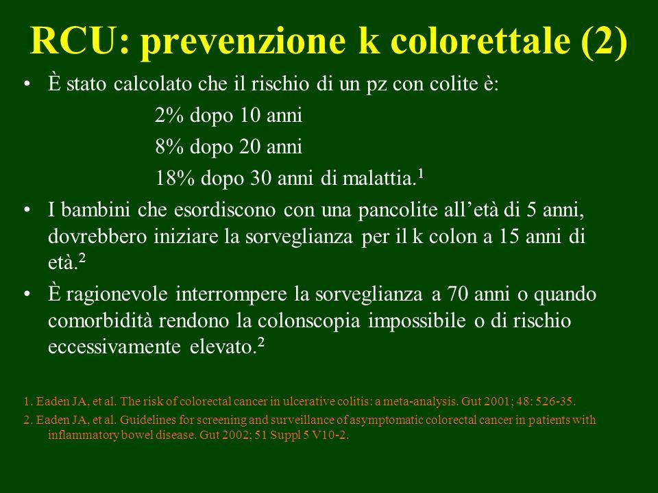 RCU: prevenzione k colorettale (2)