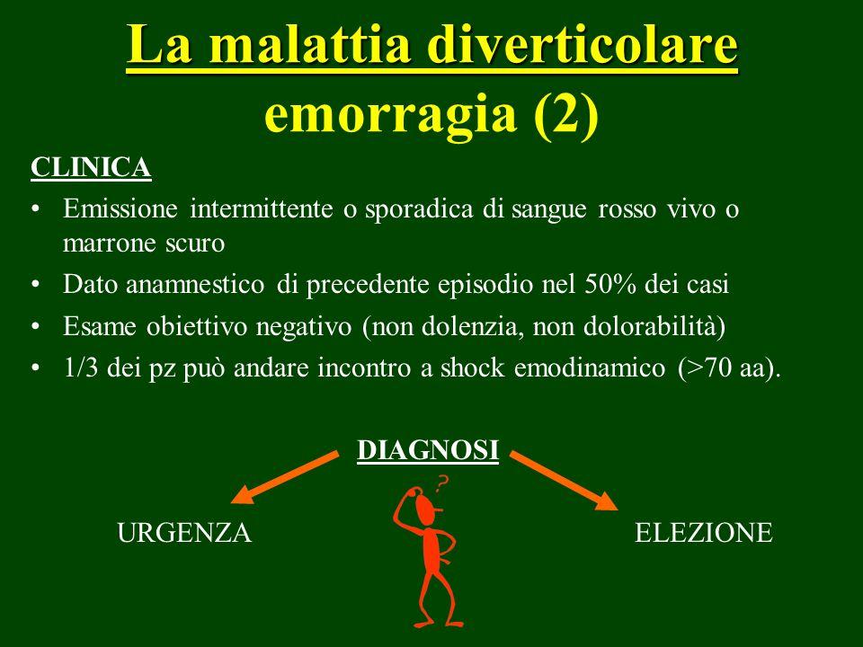 La malattia diverticolare emorragia (2)