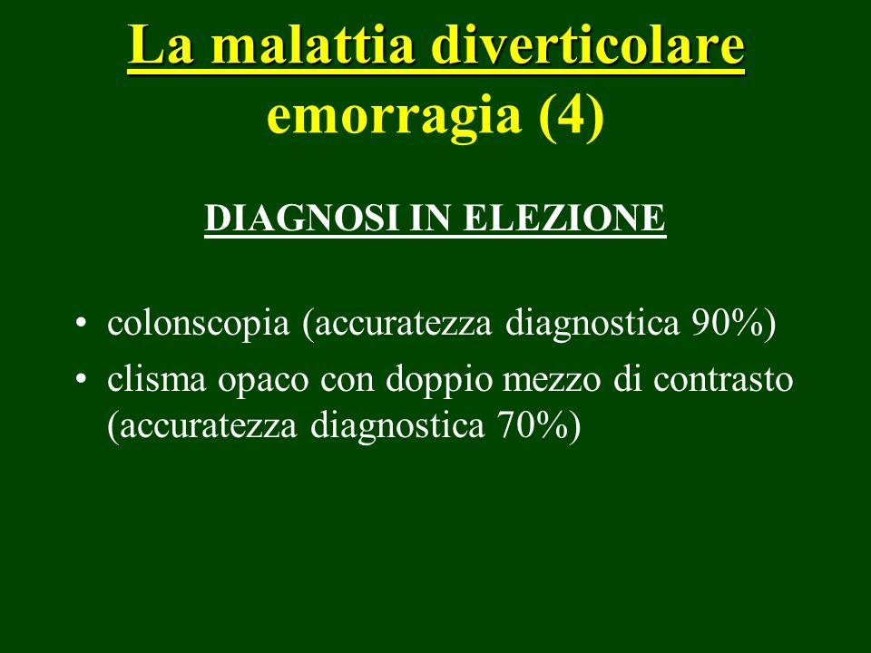 La malattia diverticolare emorragia (4)