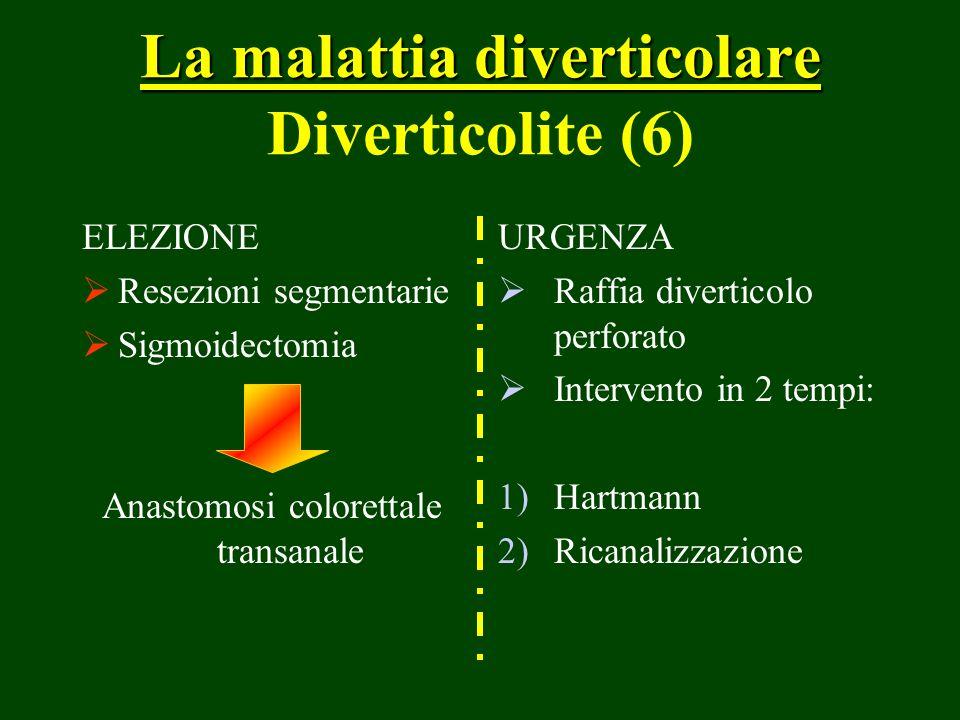 La malattia diverticolare Diverticolite (6)