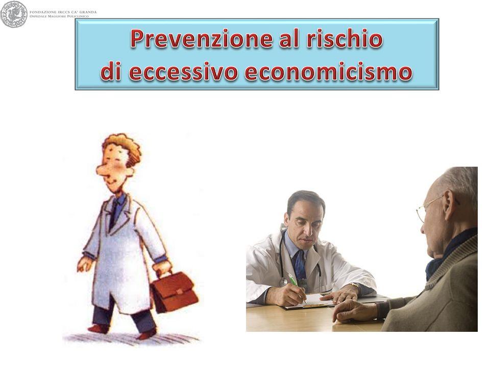 Prevenzione al rischio di eccessivo economicismo