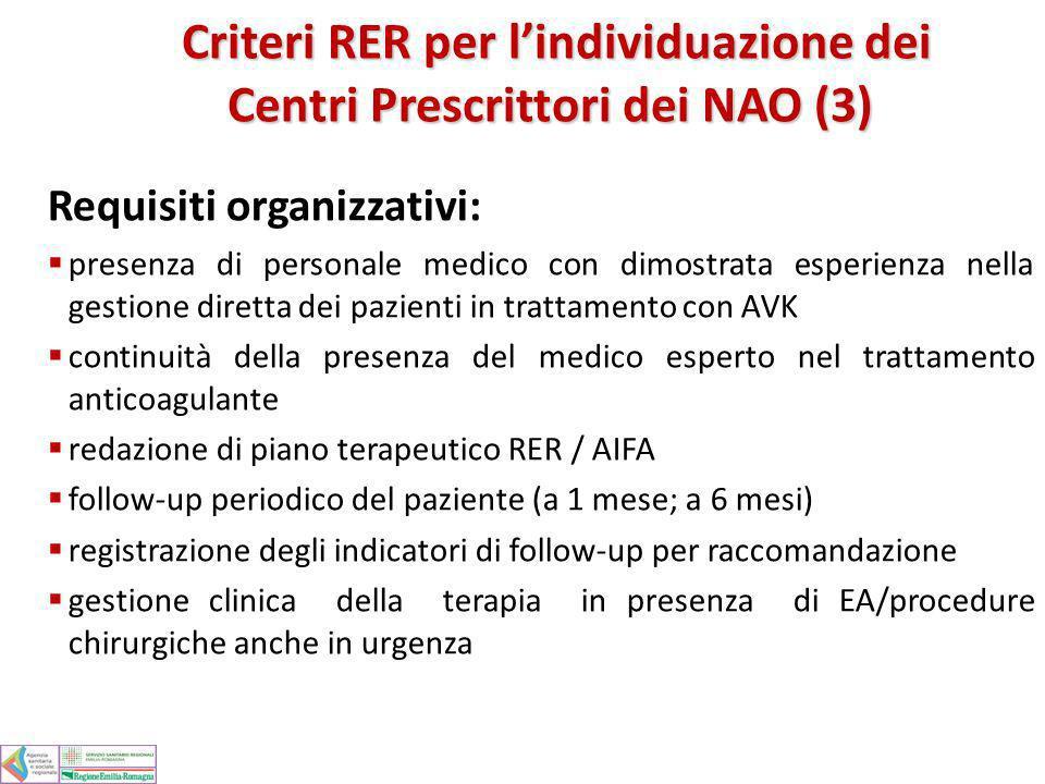 Criteri RER per l'individuazione dei Centri Prescrittori dei NAO (3)