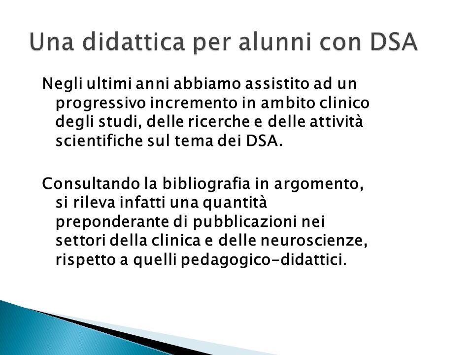 Una didattica per alunni con DSA