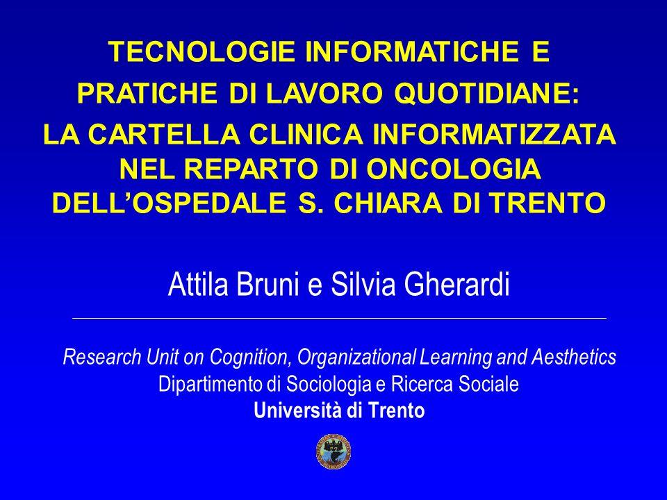 TECNOLOGIE INFORMATICHE E PRATICHE DI LAVORO QUOTIDIANE: