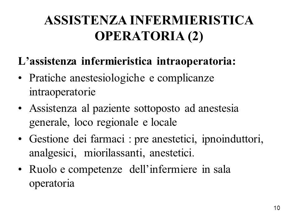 ASSISTENZA INFERMIERISTICA OPERATORIA (2)