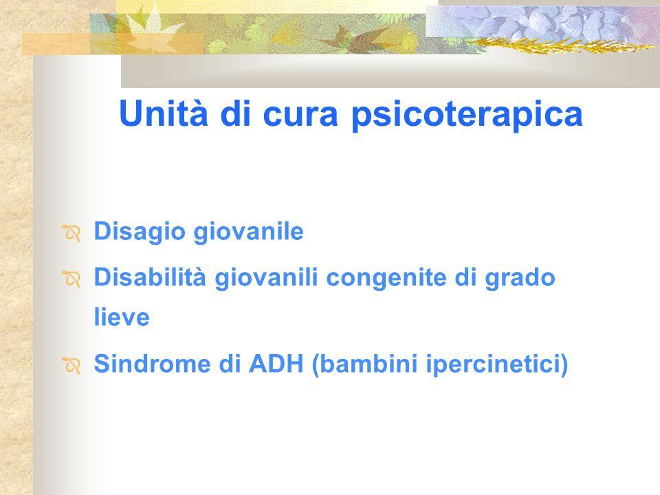 Unità di cura psicoterapica