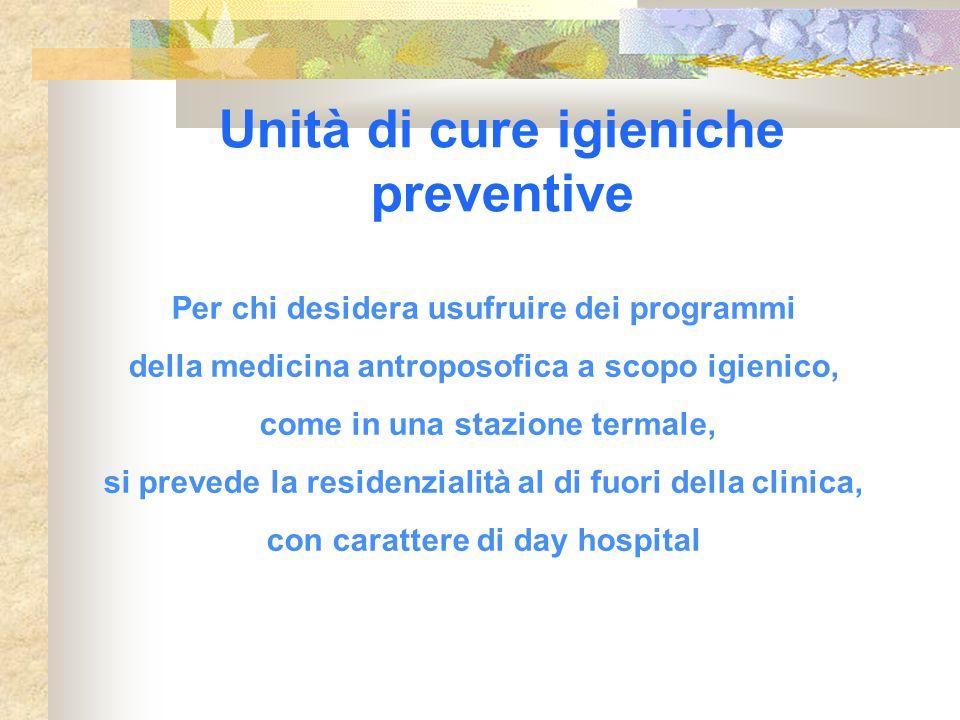 Unità di cure igieniche preventive