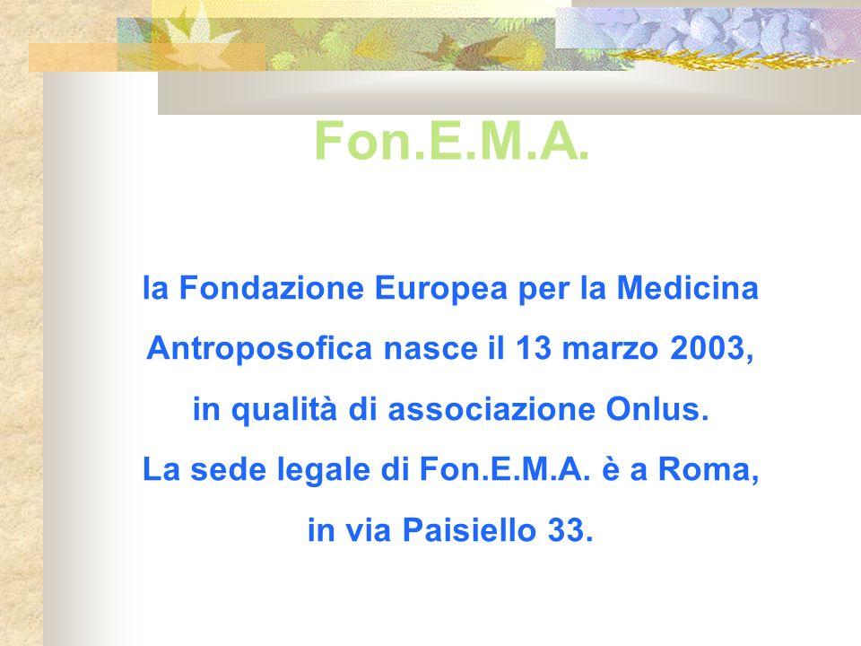 Fon.E.M.A. la Fondazione Europea per la Medicina