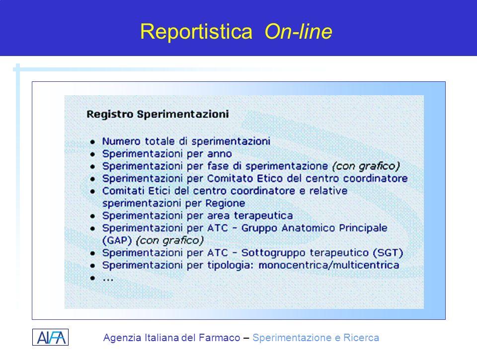 Reportistica On-line