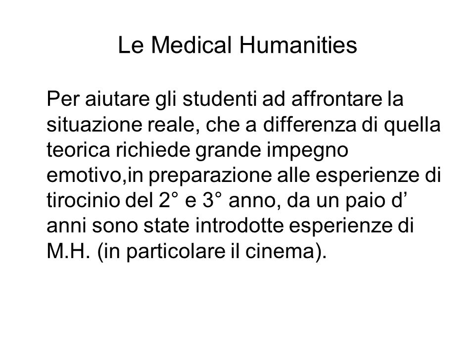 Le Medical Humanities