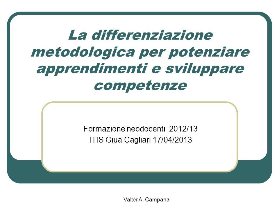 Formazione neodocenti 2012/13 ITIS Giua Cagliari 17/04/2013