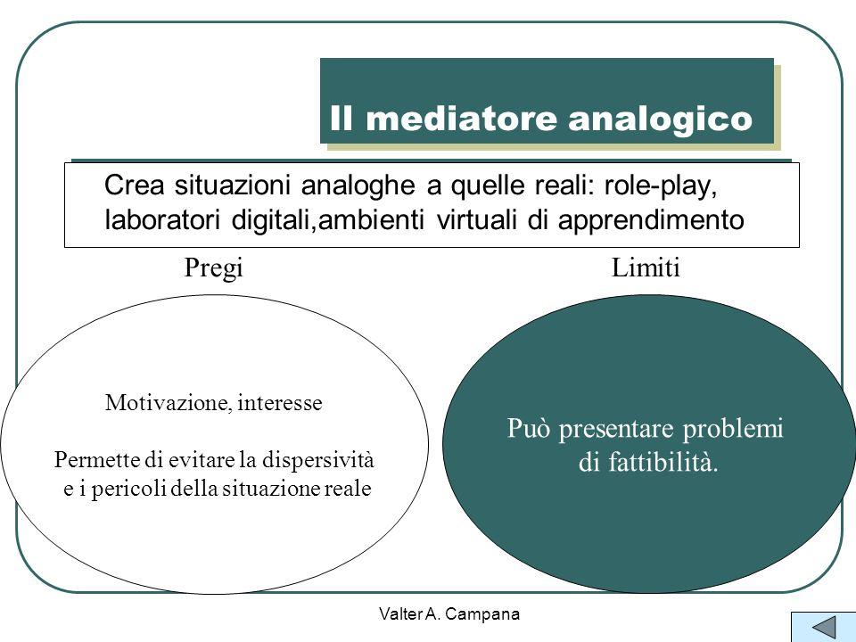 Il mediatore analogico