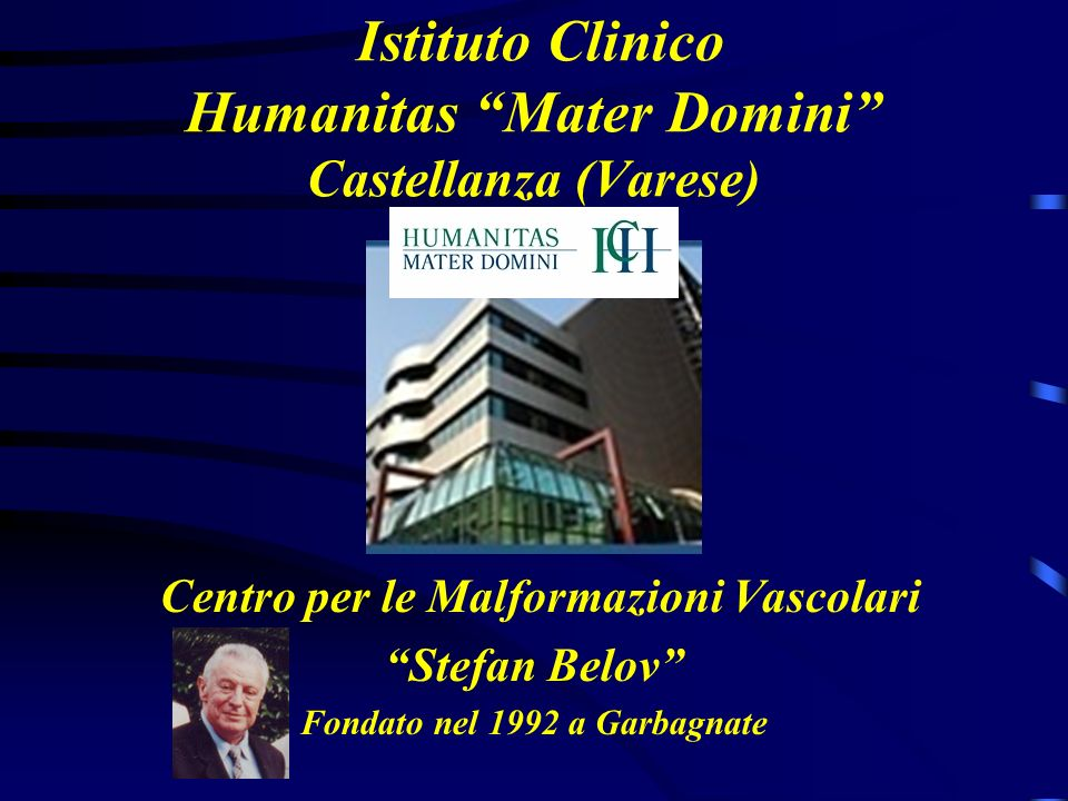 Istituto Clinico Humanitas Mater Domini Castellanza (Varese)