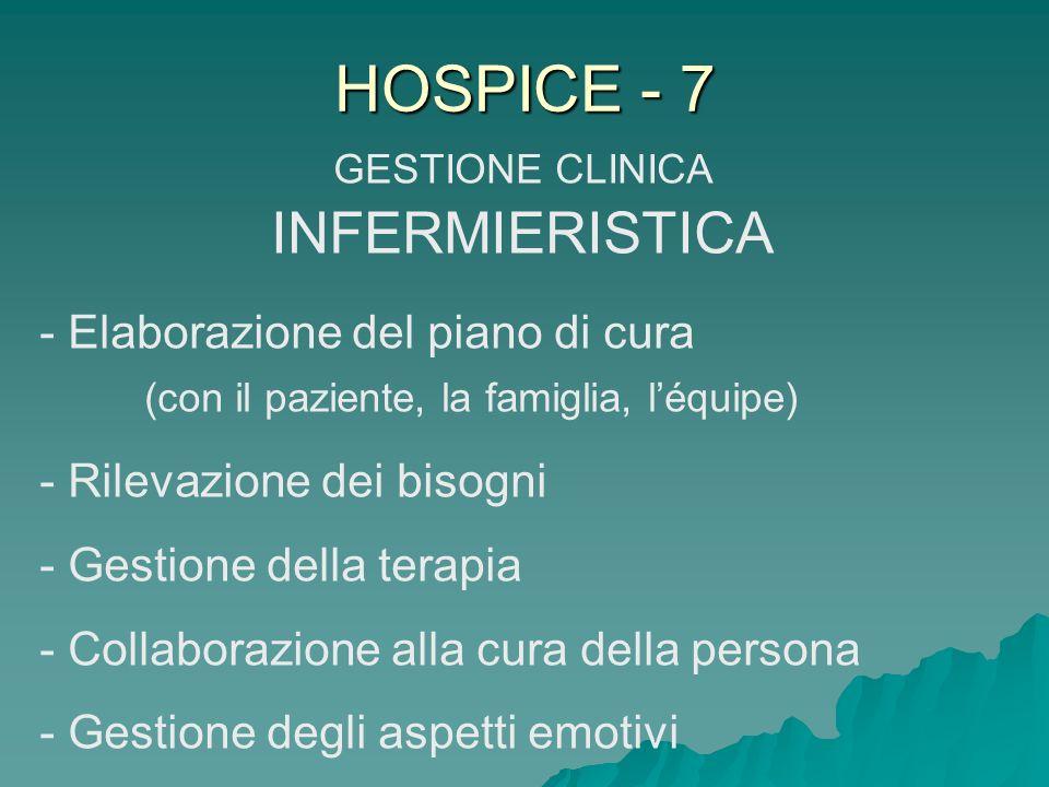 GESTIONE CLINICA INFERMIERISTICA