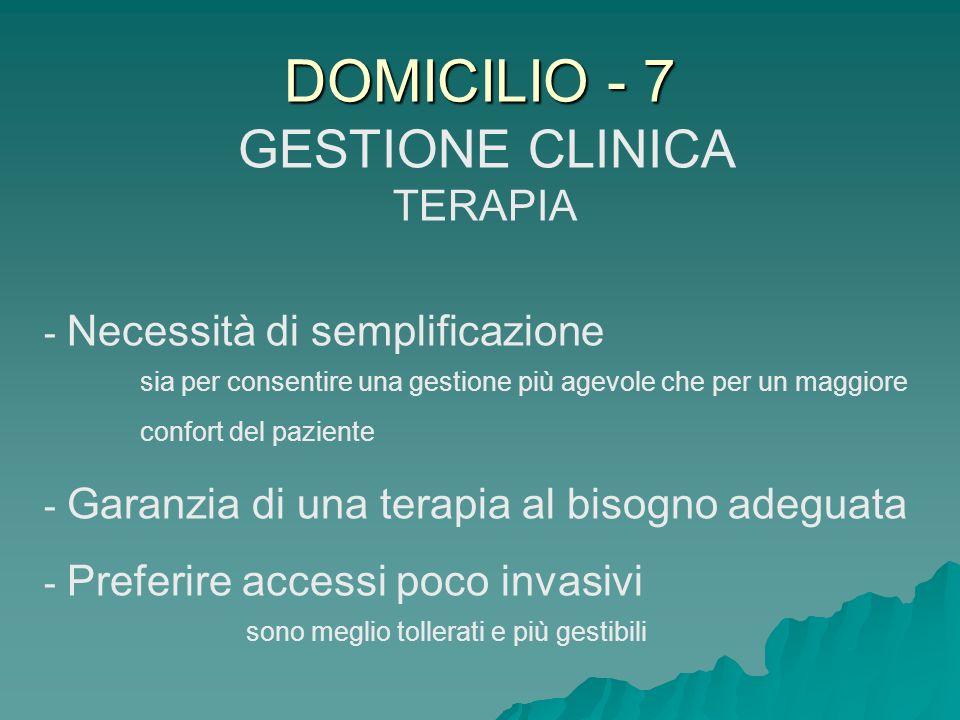 GESTIONE CLINICA TERAPIA