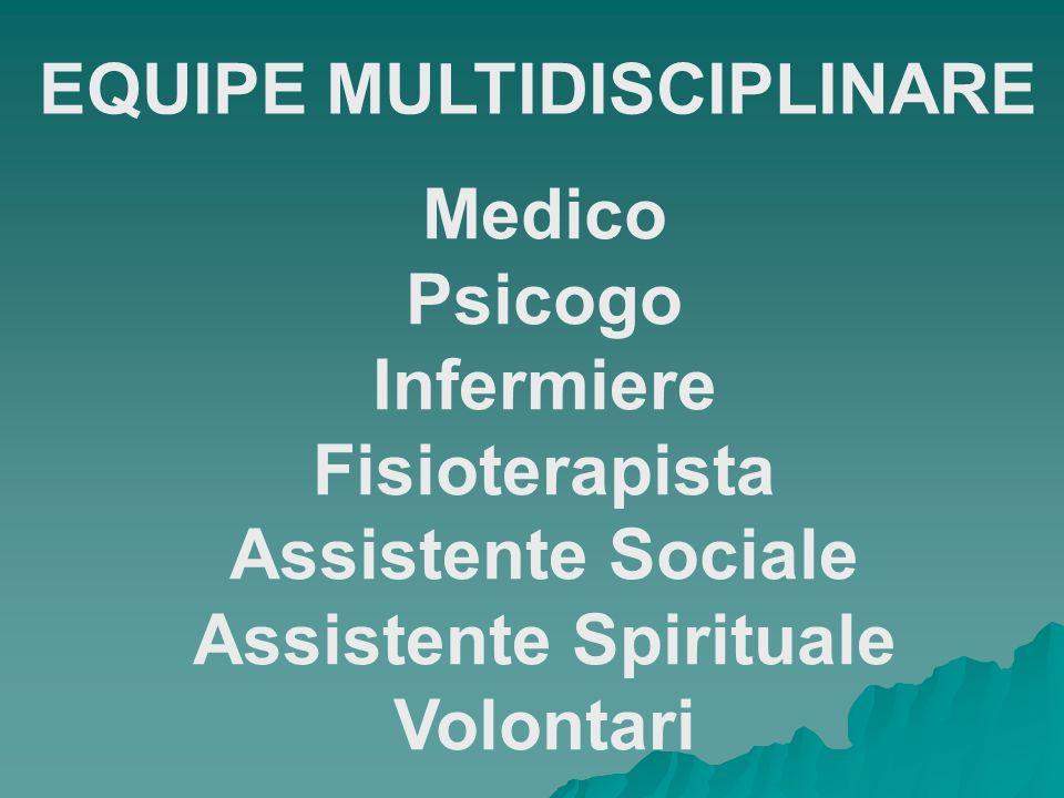 EQUIPE MULTIDISCIPLINARE Assistente Spirituale