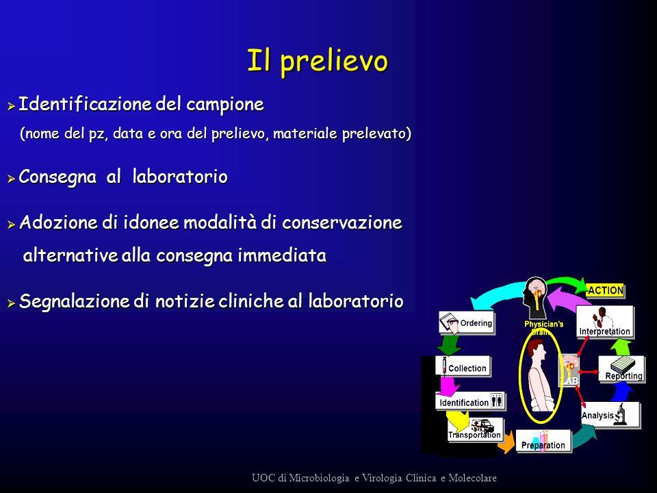 UOC di Microbiologia e Virologia Clinica e Molecolare