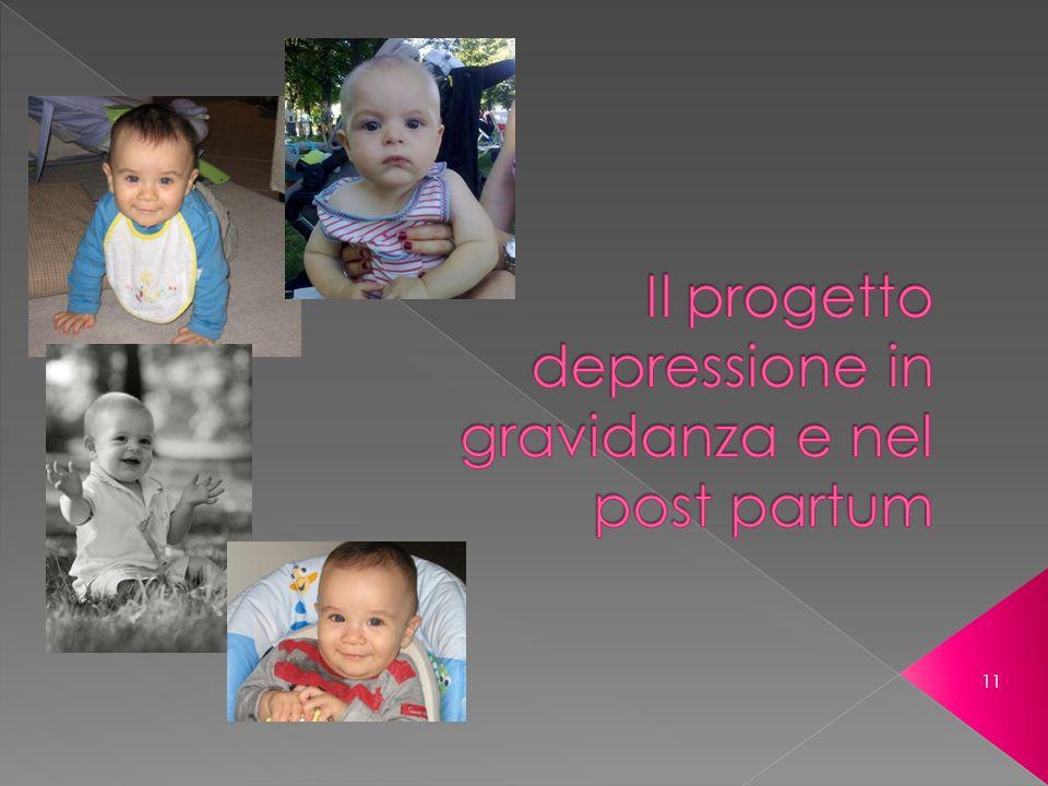Il progetto depressione in gravidanza e nel post partum